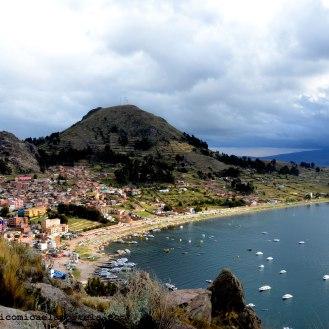 Lago Titicaca frontera con Perù