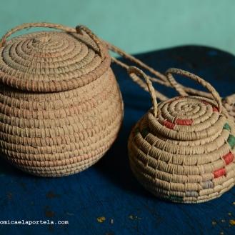 Artesanías de la comunidad Warao